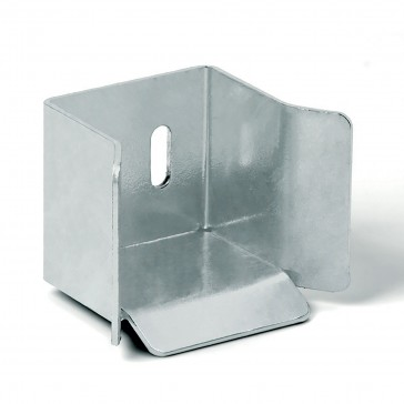 DuraGates Bottom End Cup CGS-346M (Steel) For Cantilever Track - Cantilever Sliding Gate Hardware