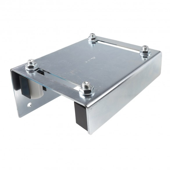 "DuraGates Adjustable Guiding Plate 256-300 (Steel) For Up To 4 3/4"" Gate Frames - Cantilever Sliding Gate Hardware"
