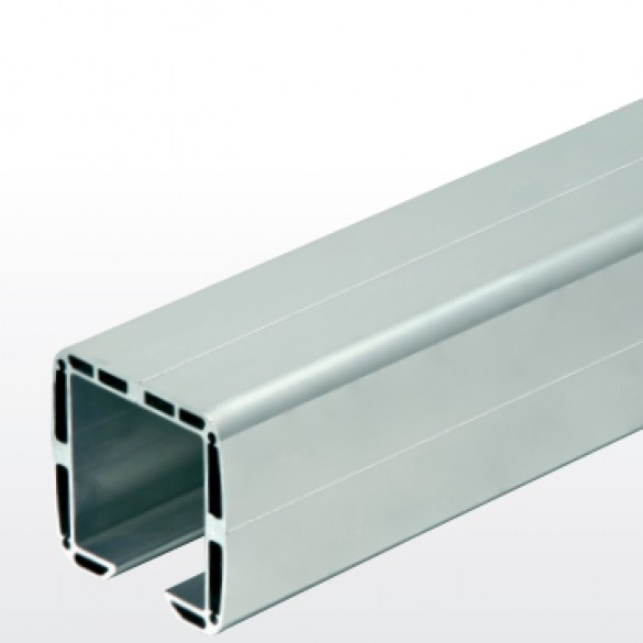 "DuraGates 19' 8"" Cantilever Track CGA-345P-20 (Aluminum) - Cantilever Sliding Gate Hardware"