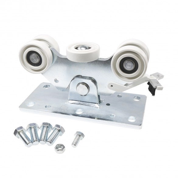 DuraGates Small Nylon 5-Wheel Carriage CGA-350P (Aluminum) - Cantilever Sliding Gate Hardware