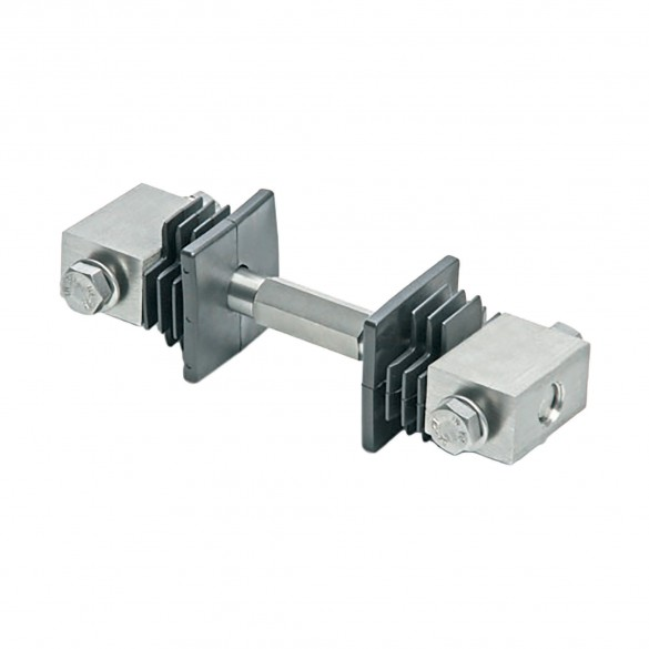 "DuraGates 2"" Tension Bar CGI-40 (Stainless Steel) For Minor Gate Adjustments - Cantilever Sliding Gate Hardware"