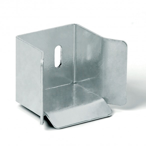 DuraGates Bottom End Cup CGS-346P (Steel) For Cantilever Track - Cantilever Sliding Gate Hardware