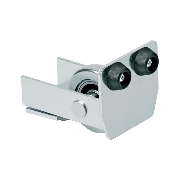 DuraGates End Wheel CGA-347P (Steel) For Cantilever Track - Cantilever Sliding Gate Hardware
