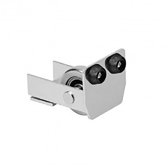 DuraGates End Wheel CGI-347P (Stainless Steel) For Cantilever Track - Cantilever Sliding Gate Hardware