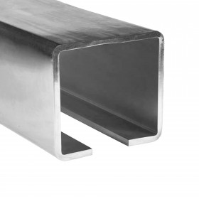 Duragates 10' X-Large Cantilever Track CGS-345XL-10 (Galvanized Steel) - Cantilever Sliding Gate Hardware