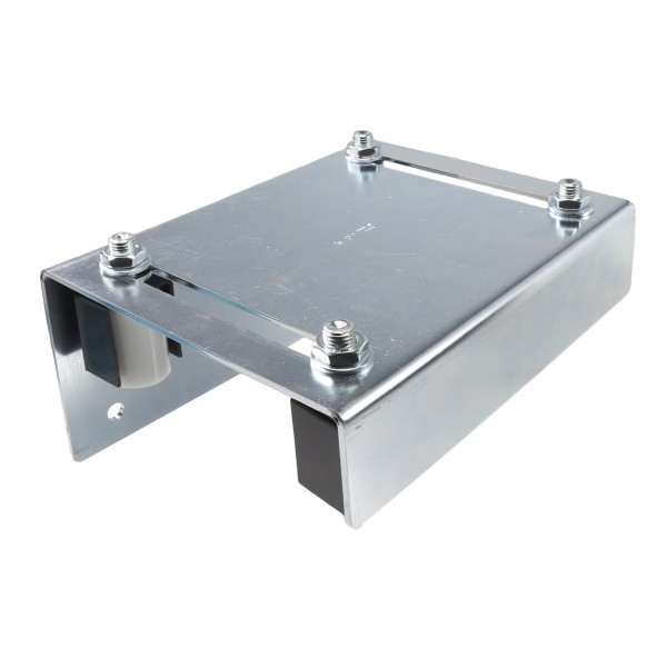 "DuraGates Adjustable Guiding Plate 256-300 (Steel) For Up To 4 3/4"" Gate Frames - Cantilever Sliding Gate Hardware"