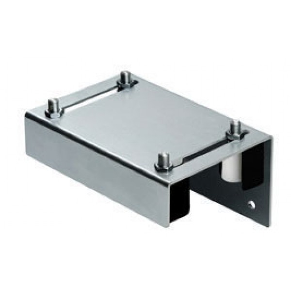 "DuraGates Adjustable Top Guiding Plate 256-220 (Steel) For Up To 3 1/8"" Gate Frames - Cantilever Sliding Gate Hardware"
