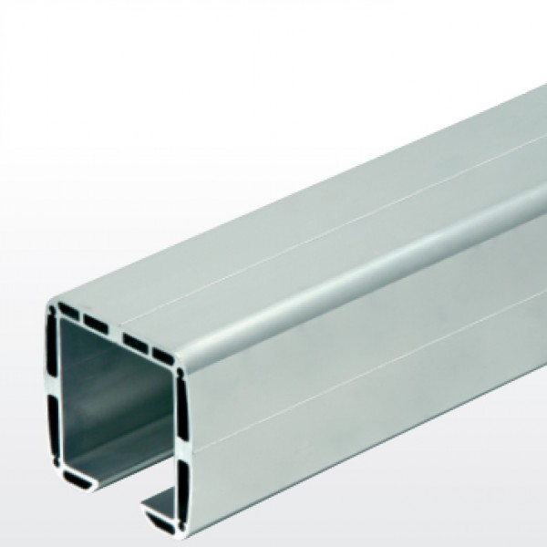 "DuraGates 9' 10"" Cantilever Track CGA-345P-10 (Aluminum) - Cantilever Sliding Gate Hardware"