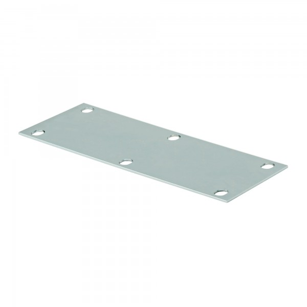 "DuraGates 8"" x 20"" Heavy-Duty Foundation Plate CG-05G (Steel) For Extra Large Carriages - Cantilever Sliding Gate Hardware"