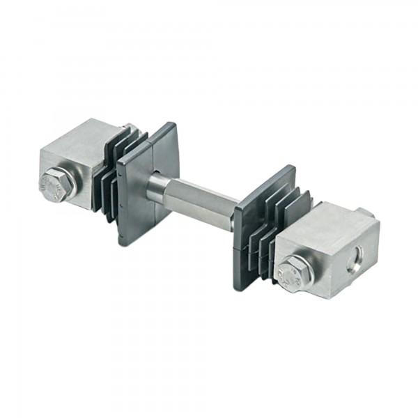 "DuraGates 2"" Tension Bar CGI-40 (Stainless Steel) For Minor Gate Adjustments - Cantilever Sliding Gate Hardware"