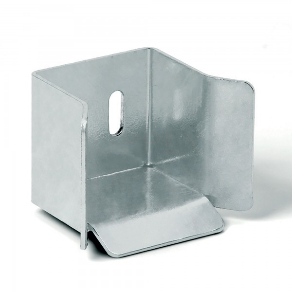 DuraGates Bottom End Cup CGS-346G (Steel) For Cantilever Track - Cantilever Sliding Gate Hardware