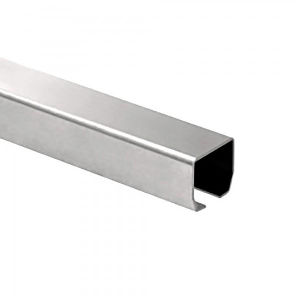 "DuraGates 9' 10"" Medium Cantilever Track CGI-345P-10F (Stainless Steel) - Cantilever Sliding Gate Hardware"