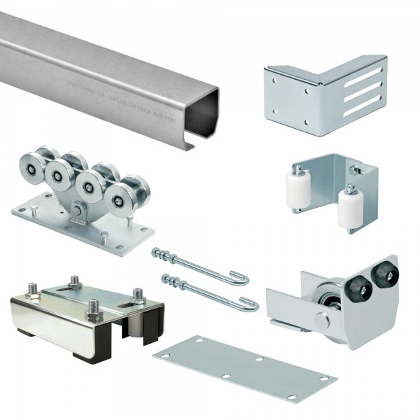 DuraGates CGS-350.8G Cantilever Sliding Gate Hardware Package For Large Gates