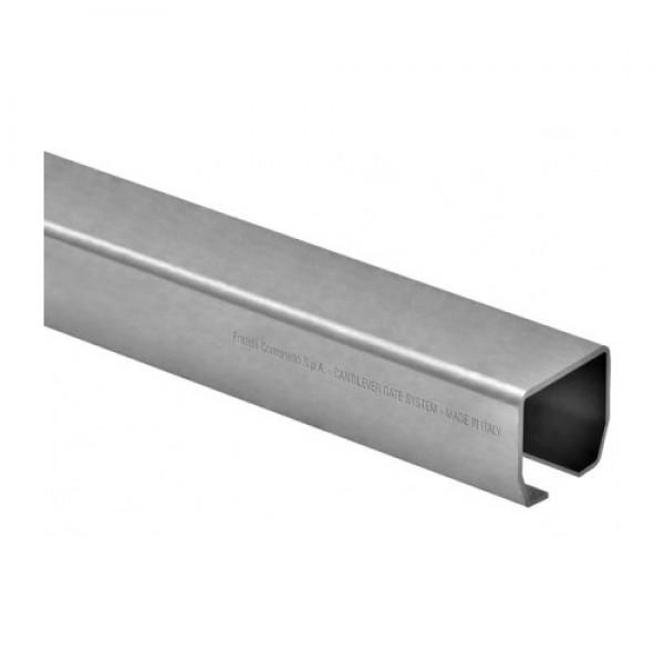 """DuraGates 9' 10"""" Medium Cantilever Track CGS-245P-10 (Galvanized Steel) - Cantilever Sliding Gate Hardware"""
