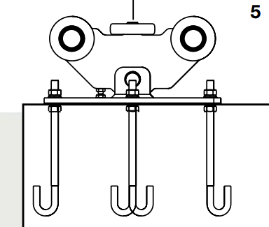 cantilever gate installation instructions step 5 drawing