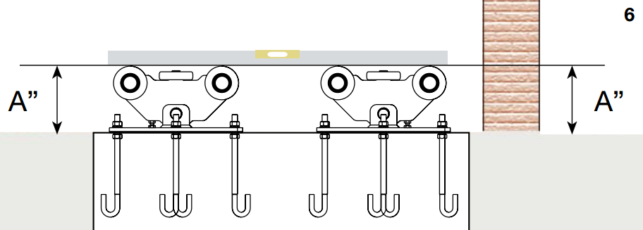 cantilever gate installation instructions step 6